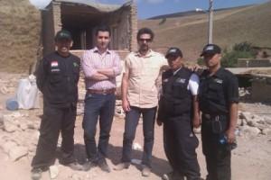 گزارشی از فعالیت انجمن مددکاران اجتماعی استان اردبیل در مناطق زلزله زده