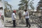 عکسهای گروه اعزامی انجمن مددکاران اجتماعی ایران به مناطق زلزله زده استان بوشهر