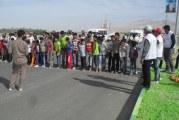 انجمن مددکاران ایران با همکاری ادارات شنبه یک دوره مسابقه دومیدانی در مقاطع سنی مختلف برگزار نمود