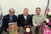 گزارش تصویری/ حضور استاد سید احمد حسینی در دفتر انجمن
