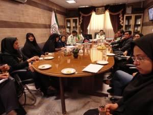 حضور مسئول شعبه کرمان در نشست پلیس فتای استان با سمن ها