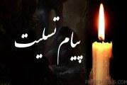 پیام تسلیت برای آقای علیرضا ایزدپور