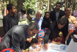 مراسم هفته مبارزه با مواد مخدر در کرمانشاه