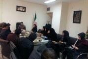 نشست اعضای انجمن کرمانشاه با مدیرکل بهزیستی استان
