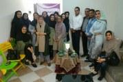 دیدار عیدانه مددکاران هرمزگان در دفتر انجمن استان