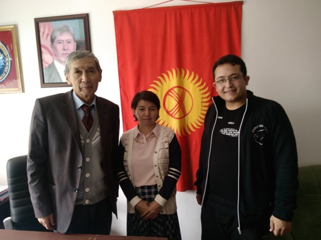 دیدار با انجمن قرقیزستان