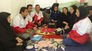 گزارش اقدامات انجمن مددکاران اجتماعی به سازمان مدیریت بحران درباره زلزله کرمانشاه ارسال شد
