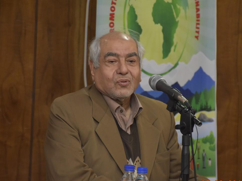 دکتر جزایری رئیس بهزیستی سابق
