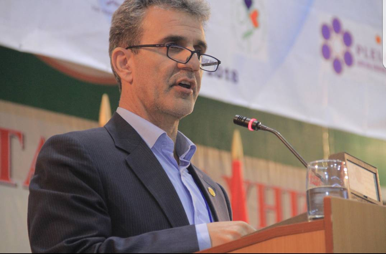 سخنرانی موسوی چلک در کنفرانس بیشکک