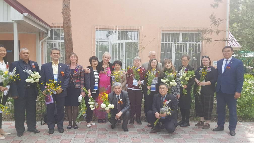 حضور در مرکز توانبخشی قرقیزستان