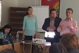 """برگزاری کارگاه آموزشی """"مددکاری اجتماعی در بحران"""" در قیرقیزستان"""