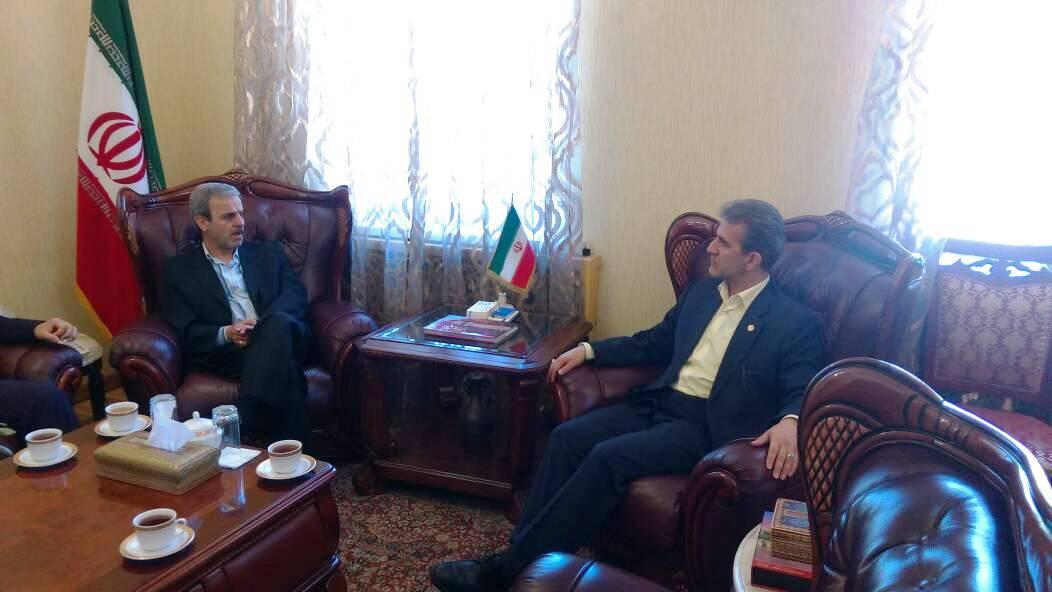دیدار با سفیر ایران در قرقیزستان