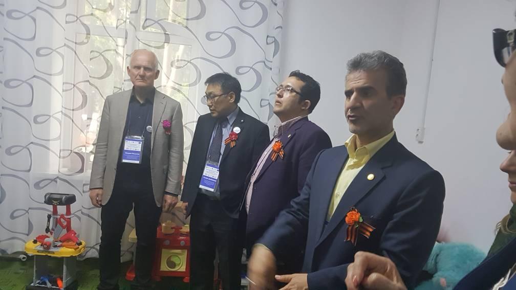 بازدید از مراکز در بیشکک قرقیزستان