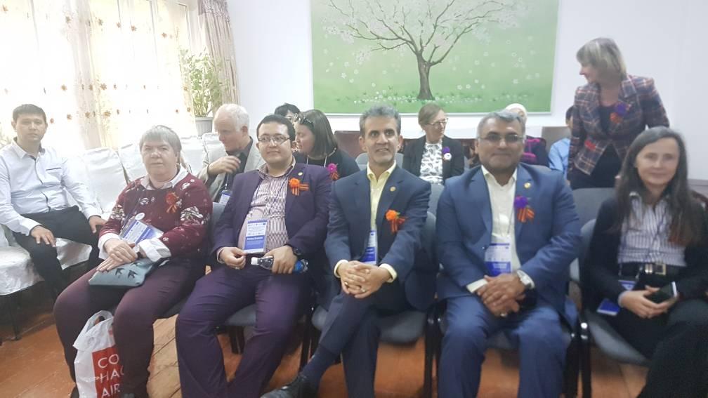 حضور اعضای هیات مدیره انجمن در کنفرانس بیشکک قرقیزستان