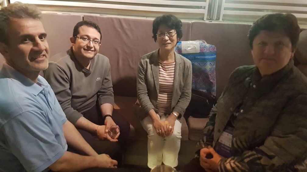 مذاکره رئیس انجمن مددکاران اجتماعی ایران با دکتر ماریکو کیمورا، رئیس آسیااقیانوسیه فدراسیون و خانم دکتر آنتونینا داشکینا رئیس اتحادیه مددکاری اجتماعی روسیه