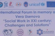 رئیس انجمن ایران سخنران ویژه کنفرانس بین المللی مددکاری اجتماعی قرقیزستان