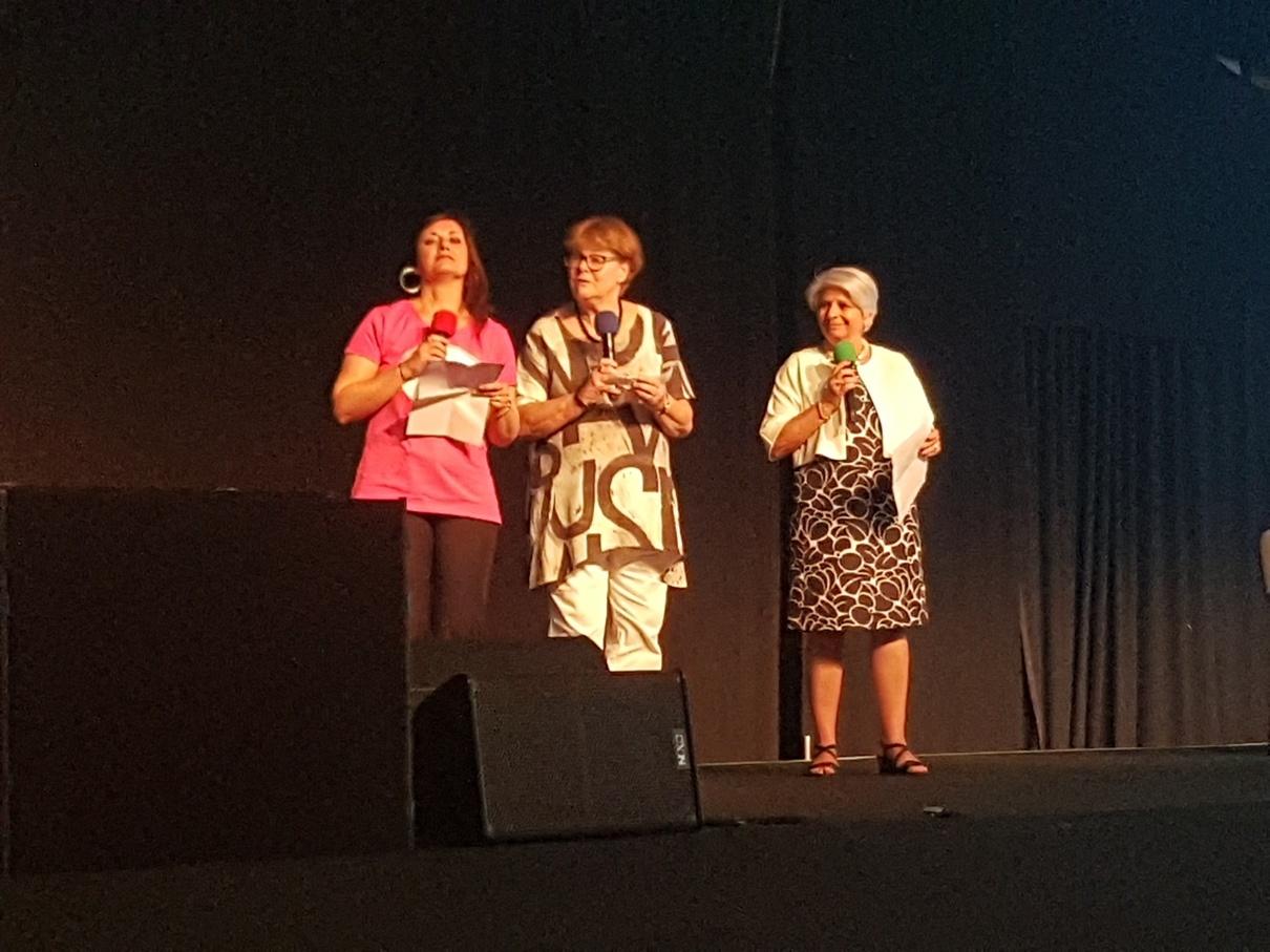 قرائت بیانیه پایانی کنفرانس از سوی روسای سه سازمان اصلی همکار (فدراسیون، شورای آموزش و انجمن بین المللی مدارس