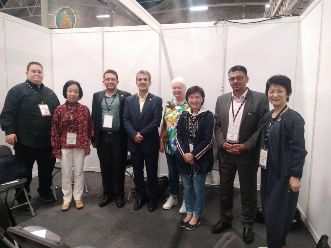 جلسه هیات رییسه منطقه آسیااقیانوسیه فدراسیون در حاشیه کنفرانس