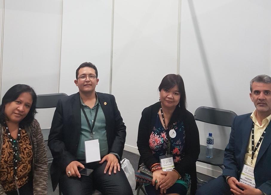 جلسه با اعضای انجمن علمی مددکاری اجتماعی فیلیپین