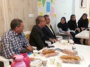 نشست اعضای استان خراسان رضوی با موسوی چلک در مشهد