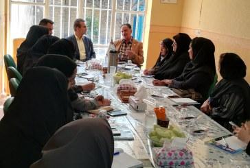 دیدار رئیس انجمن مددکاران اجتماعی ایران با اعضای استان فارس