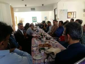 دیدار رئیس انجمن با مسئول و اعضای انجمن در استان کرمانشاه