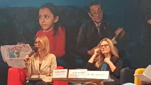 سخنرانی وزیر کار و همچنين مسائل اجتماعی ارمنستان در افتتاحیه