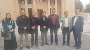 اعضای انجمن ایران در همایش ایروان