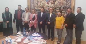 جلسه در سفارت ایران در ارمنستان