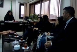 جلسه مددکاران اجتماعی گیلان با معاون اجتماعی استاندار