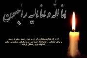 تسلیت به سرکار خانم صانعی بابت فوت همسر گرامیشان