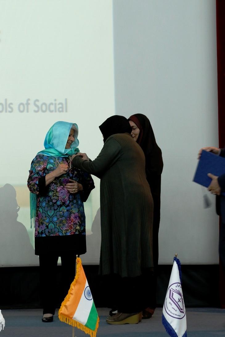 social health medal to dr Companini