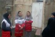 اخبار سیل۱: حضور مددکاران اجتماعی در کرمانشاه