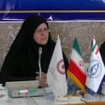 سرکار خانم احمدیان مدیر کل سازمان بهزیستی استان